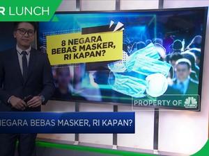 8 Negara Bebas Masker, Indonesia Kapan?