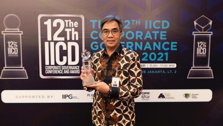 Tahun ini, bank bjb meraih penghargaan sebagai nominator dan Top 50 emiten dalam The 12th IICD Corporate Governance Award. Ajang penghargaan tersebut diselenggarakan oleh Indonesian Institute for Corporate Director (IICD) secara berkala setiap tahunnya.