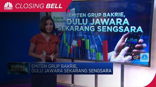 BTEL Emiten Grup Bakrie, Dulu Jawara Sekarang Sengsara