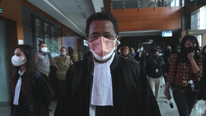 Hotman Paris (CNBC Indonesia/Tri Susilo)