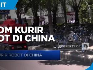 JD.com, Kurir Robot di China