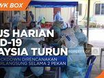 Jelang Lockdown di Malaysia, Kasus Harian Corona Turun