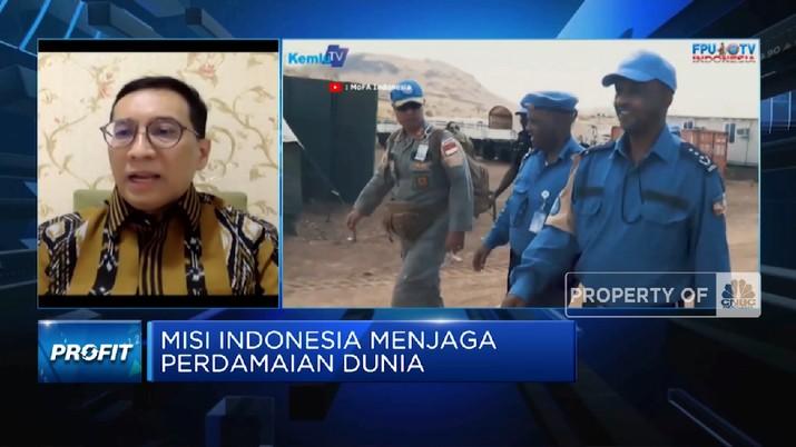 Kontribusi RI Sebagai Negara Terbesar Ke-8 Penyumbang Pasukan Perdamaian PBB(CNBC Indonesia TV)