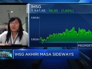 Menguat Lebih Dari 1%, IHSG Ditutup di Level 5.900-an