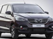 Kisi-Kisi Toyota Ertiga Bocor, Begini Penampakannya