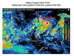 Waspada! Siklon Tropis Choi-Wan Berpotensi Hantam Wilayah RI