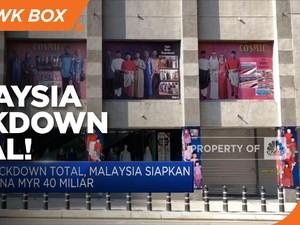 Lockdown Total, Malaysia Siapkan Dana MYR 40 Miliar