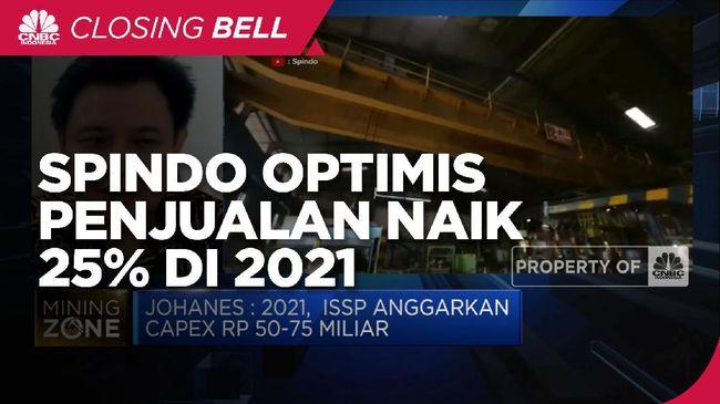 ISSP Masih Pandemi, Spindo Optimistis Penjualan Naik 25% di 2021