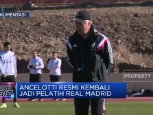 Rela Digaji Kecil, Ancelotti Jadi Pelatih Real Madrid Lagi