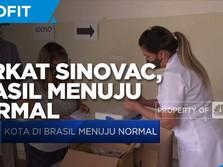 Berkat Sinovac, Kota di Brasil Menuju Normal