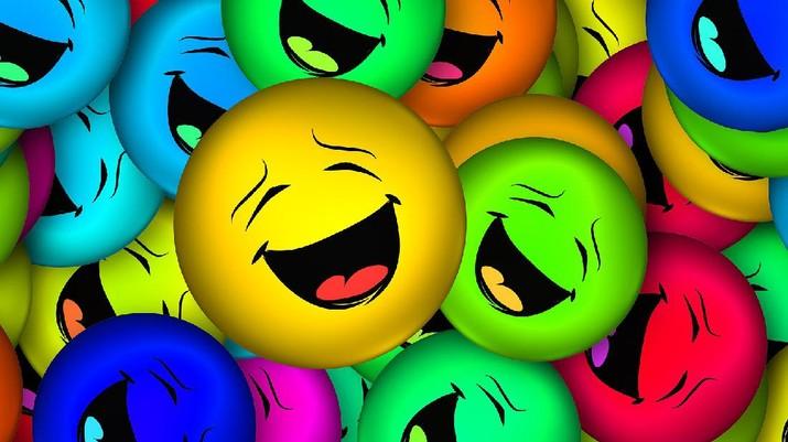 Emoticn tertawa (Image by Gerd Altmann from Pixabay)