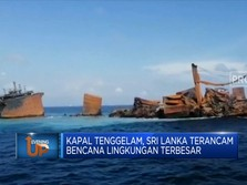 Kapal Tenggelam, Sri Lanka Terancam Bencana Lingkungan Hebat