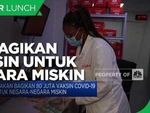 AS akan Bagikan 80 Juta Vaksin Covid-19 untuk Negara Miskin