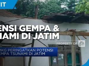 BMKG Peringatkan Potensi Gempa Tsunami di Jatim