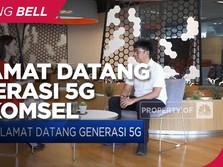 Dorong Inovasi Teknologi Digital Lewat Layanan 5G Telkomsel
