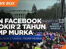 Akun Diblokir Facebook Selama 2 Tahun, Trump Murka