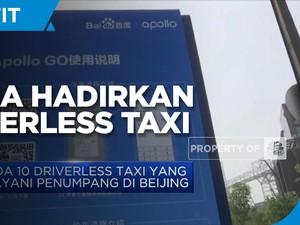 China Resmi Hadirkan Driverless Taxi