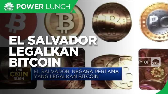 El Salvador, Negara Pertama Yang Legalkan Bitcoin