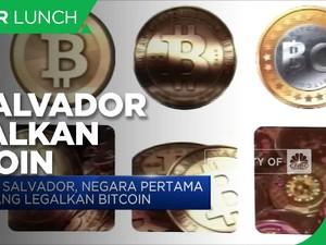 El Salvador Legalkan Bitcoin Sebagai Alat Pembayaran