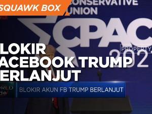 Langgar Aturan, Facebook Blokir Akun Trump 2 Tahun