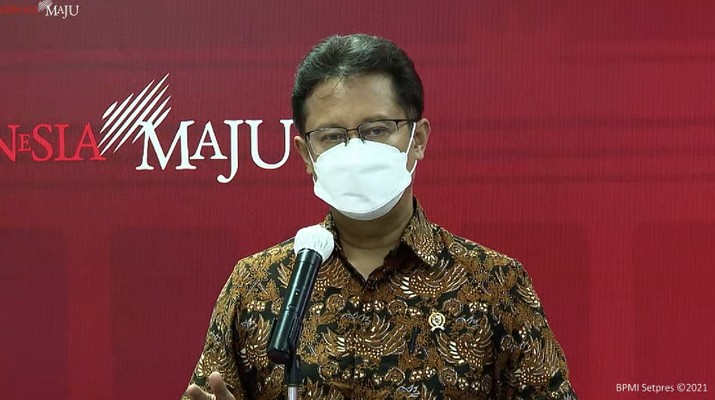 Menteri Kesehatan (Menkes), Budi Gunadi Sadikin (Tangkapan Layar Youtube Sekretariat Presiden)