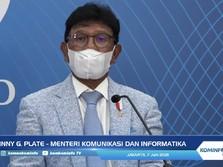 Menkominfo: Kabel Laut Fiber Optik Papua Putus Karena Alam