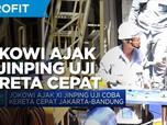 Jokowi Ajak Xi Jinping Uji Coba Kereta Cepat Jakarta-Bandung