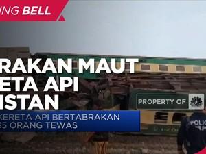 Tabrakan Maut Kereta Api Pakistan, 35 Orang Tewas