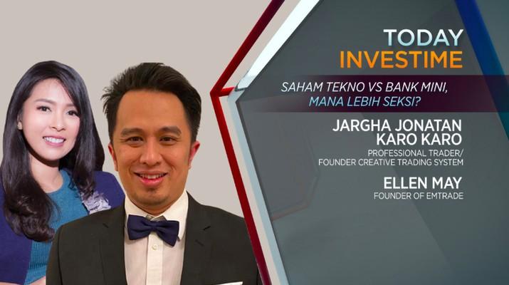 Argha Jonatan Karo Karo, trader profesional dan founder Creative Trading System dan Ellen May, founder of EMTrade.