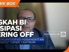 Cara BI Antisipasi Efek Tapering ke Rupiah & Pasar Keuangan