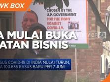 Kasus Infeksi Covid Turun, India Mulai Buka Kegiatan Bisnis
