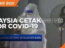 Lagi, Malaysia Cetak Rekor Kasus Covid-19