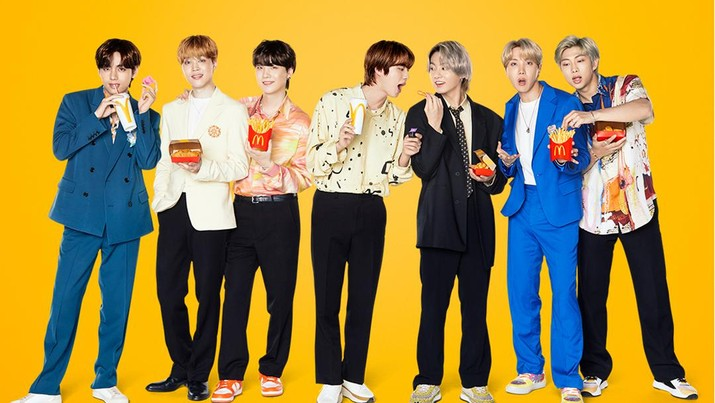 BTS Meal McDonald's. (Tangkapan Layar Twitter @McDonalds_ID)
