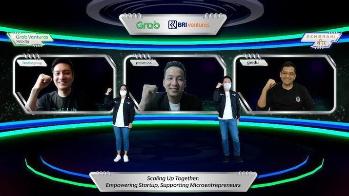 Grab dan BRI Ventures Luncurkan Grab Ventures Velocity Batch 4 X Sembrani Wira. (Dok. Grab)