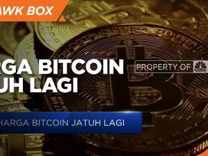 Aksi Jual Kripto Kian Deras, Harga Bitcoin Jatuh Lagi