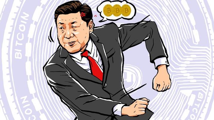 Infografis: Dear Trader! 6 Fakta Ini Bukti Xi Jinping 'Benci' Bitcoin cs