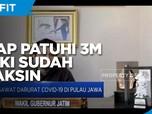 Kasus Covid Masih Tinggi, Patuhi 3M Meski Sudah Divaksin!