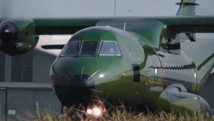 Pesawat terbang CN235-220. (Dok. PT DI)