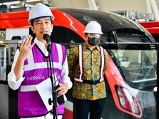 Dear Warga Jabodebek! Jokowi Janji LRT Beroperasi Juni 2022