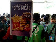 Antrean McD-BTS Meal Mengular di Malaysia, Nakes Nangis