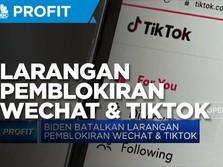 Biden Cabut Larangan Pemblokiran Wechat & Tiktok