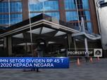 BUMN Setor Dividen Rp 45 T di 2020 Kepada Negara