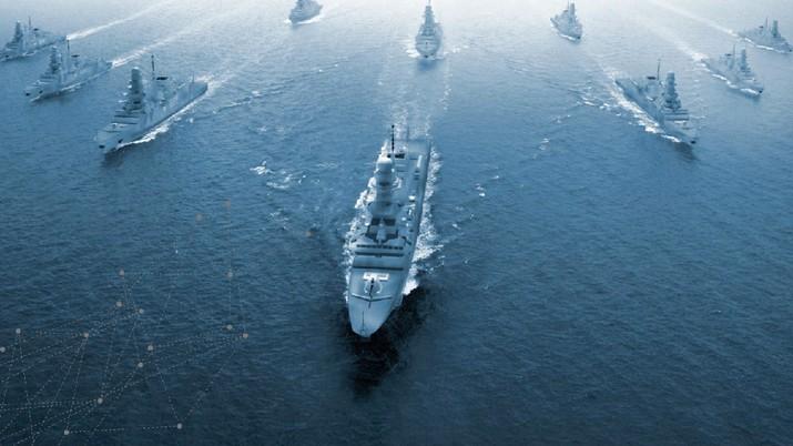 Fremm Frigate. (tangkapan layar via fincantieri.com)