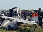 Pesawat Junta Militer Myanmar Jatuh, 7 Tewas