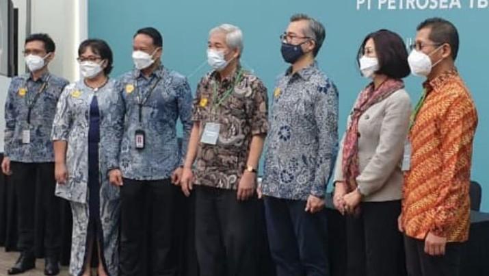 Lo Kheng Hong di RUPST Petrosea. (Foto: ist via Lo Kheng Hong)