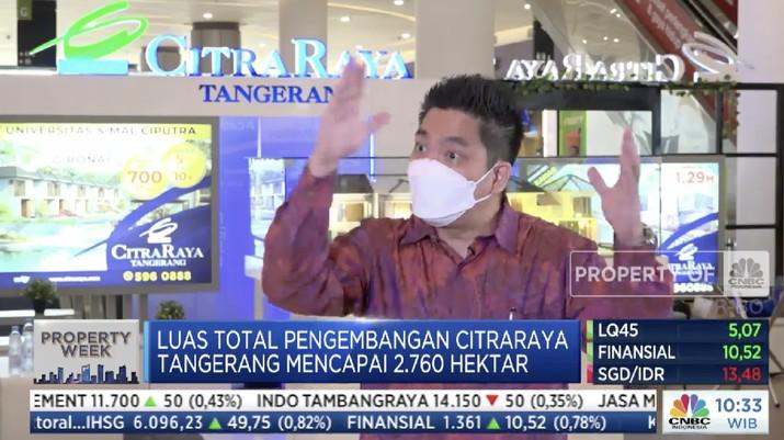Marketing Director PT Ciputra Residence Yance Onggo