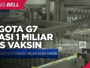 Anggota G7 Donasi 1 Miliar Dosis Vaksin Covid-19 Untuk Dunia