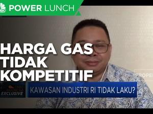 Harga Gas Tak Kompetitif Hambat Investasi Kawasan Industri