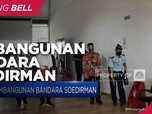 Jokowi Tinjau Pembangunan Bandara Soedirman