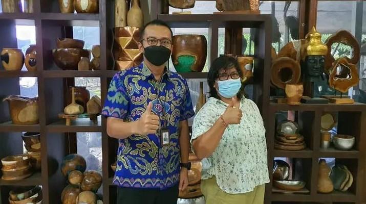 Cerita Sukses Nasabah BRI Bawa Kerajinan Bali Mendunia